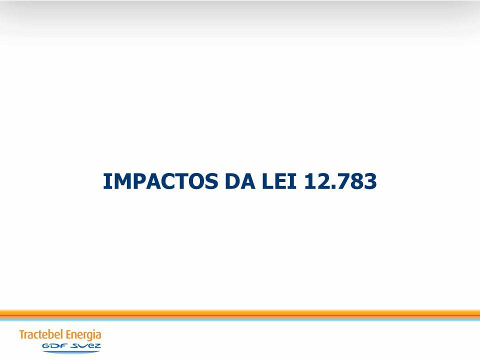 Redução do custo da energia elétrica via redução de encargos setoriais, aportes da união e prorrogação de concessões de G, T e D Resgatar a competitividade industrial Objetivo da MP 579 / Lei 12.783 Informações apresentadas pelo MME na cerimônia de anúncio da MP 579, em 11/set/2012 6