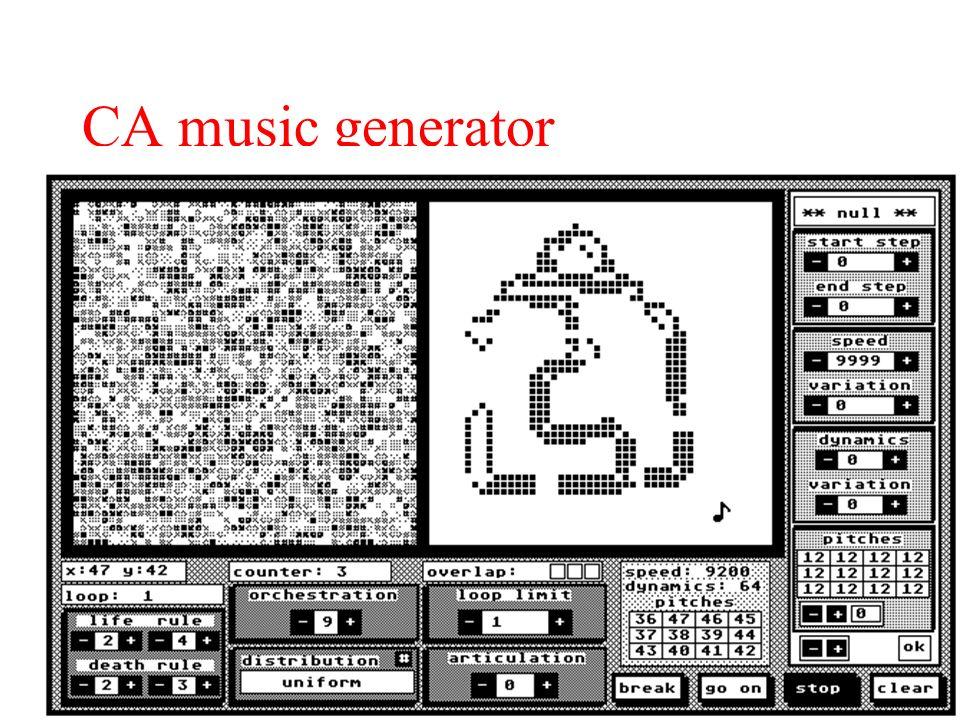 CA music generator