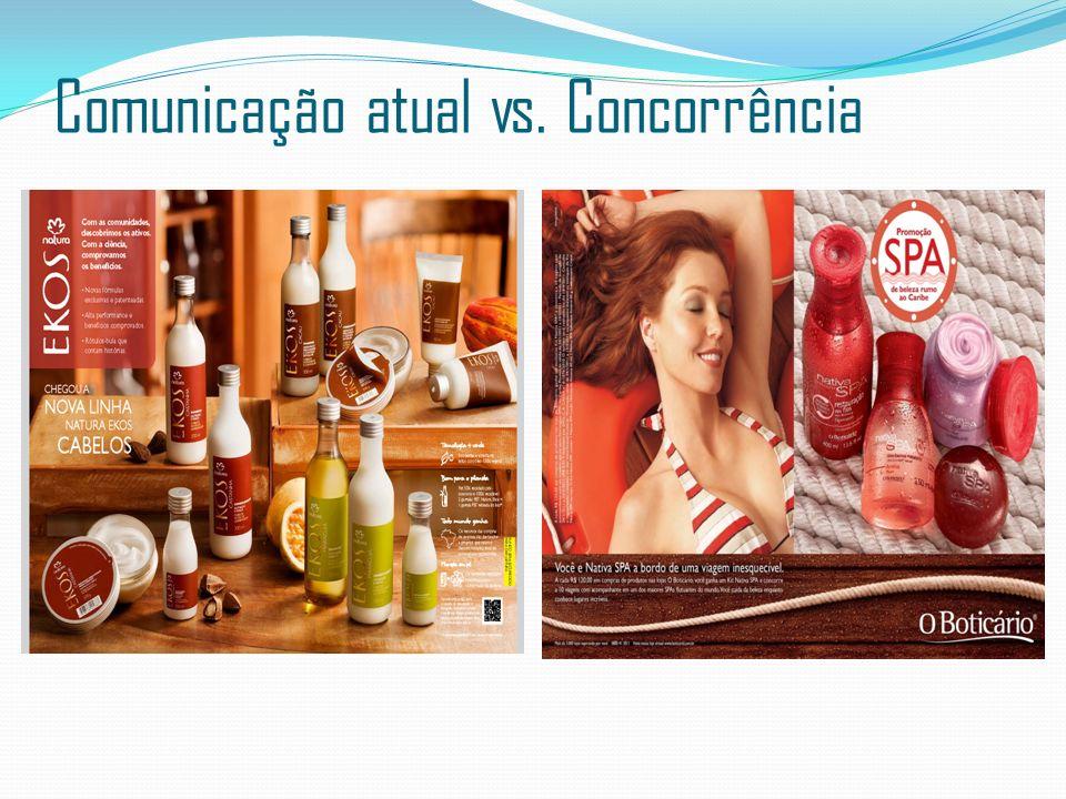 Comunicação atual vs. Concorrência