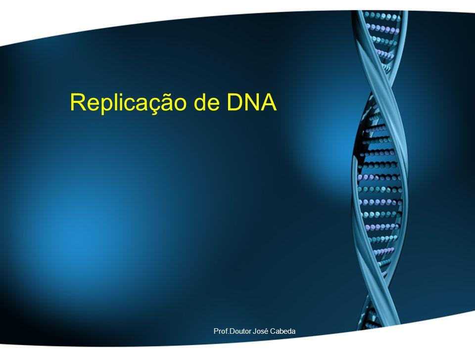 Replicação de DNA Prof.Doutor José Cabeda