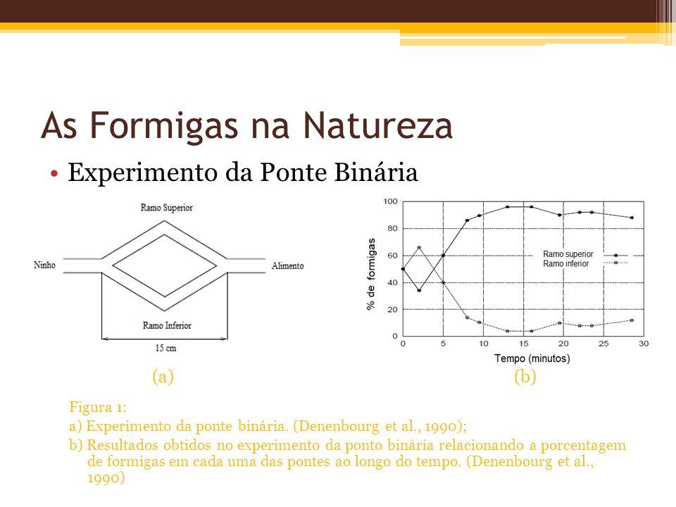 As Formigas na Natureza Experimento da Ponte Binária (a) (b) Figura 1: a) Experimento da ponte binária.