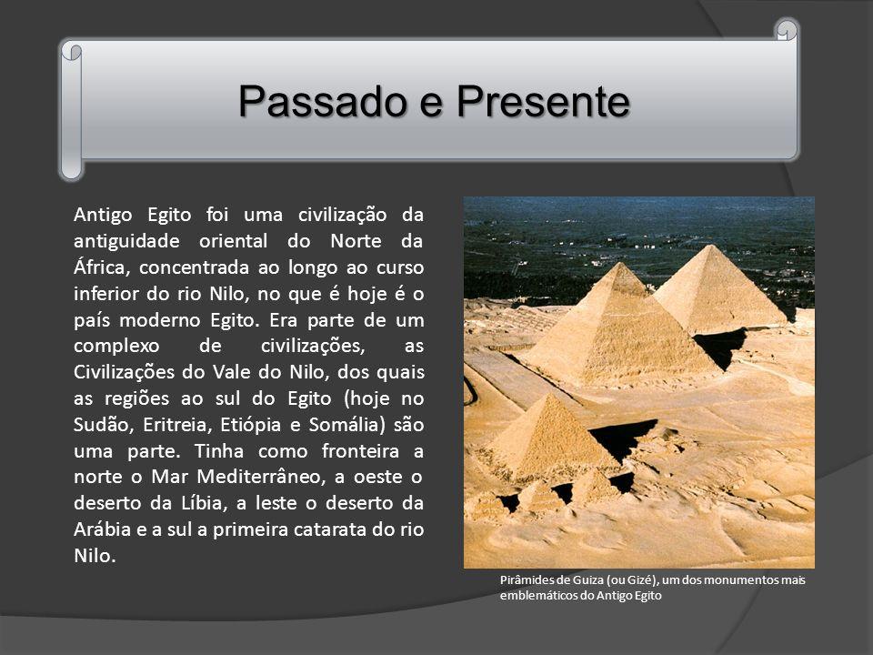 Antigo Egito foi uma civilização da antiguidade oriental do Norte da África, concentrada ao longo ao curso inferior do rio Nilo, no que é hoje é o país moderno Egito.