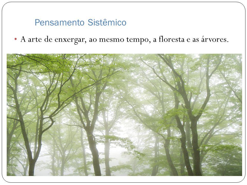Pensamento Sistêmico A arte de enxergar, ao mesmo tempo, a floresta e as árvores.