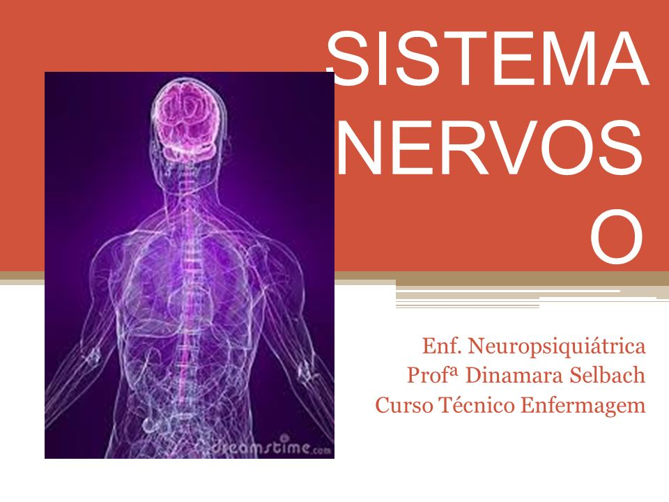 SISTEMA NERVOS O Enf. Neuropsiquiátrica Profª Dinamara Selbach Curso Técnico Enfermagem