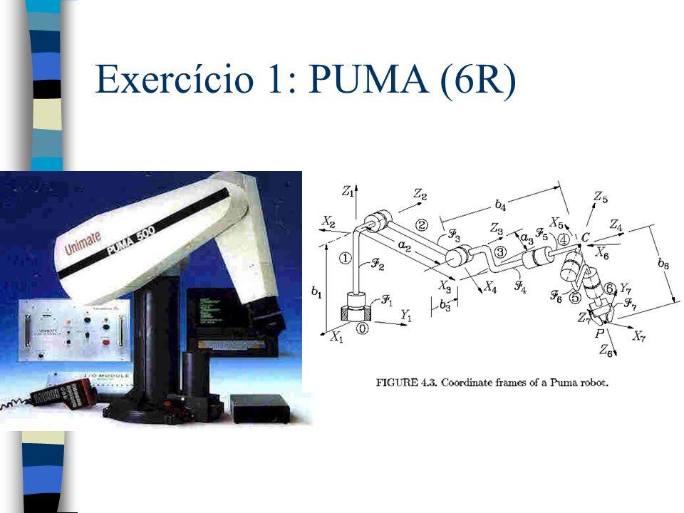Exercício 1: PUMA (6R)