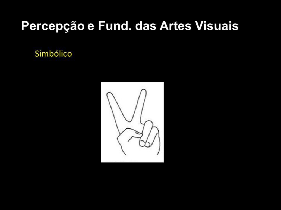 Simbólico Percepção e Fund. das Artes Visuais