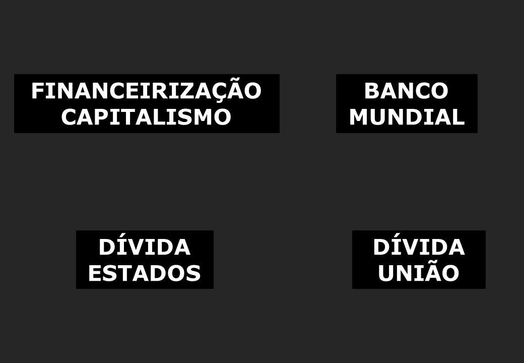 O EFEITO BRUTAL DA TAXA DE JUROS (IGP-DI + 7,5%) DÍVIDA CONTRATUAL DE MINAS GERAIS – R$ bilhões Elaboração: Auditoria Cidadã da Dívida, a partir de dados coletados pelo SINDIFISCO, e disponíveis em: http://www.sindifiscomg.com.br/cartilhas/Cartilha/cartilha.pdf, pág 41 Simulação com Juros de 6% ao ano: JUROS IGUAIS AOS COBRADOS PELO BNDES DAS EMPRESAS PRIVADAS É importante que a Comissão requeira os dados, ano a ano, do quanto foi pago, o quanto a dívida rendeu de juros, e o demonstrativo do saldo final a cada ano.