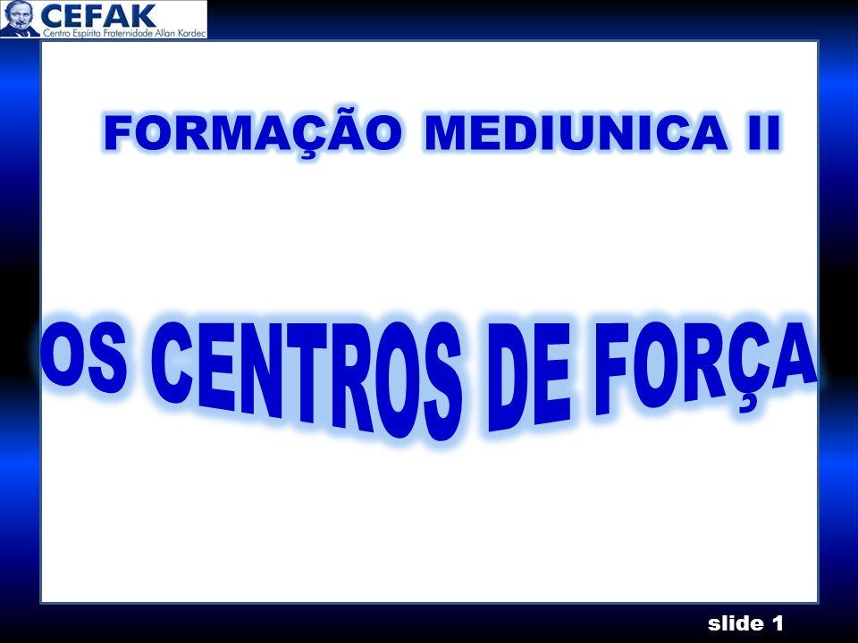 slide 2 CENTROS DE FORÇAS CORONÁRIO CEREBRAL LARÍNGEO CARDÍACO ESPLÊNICO GÁSTRICO GENÉSICO
