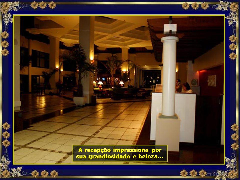 Primeiramente vamos fazer nosso check-in no maravilhoso Hotel Costa do Sauípe Resort All Inclusive, que, por si só, já é uma atração à parte...