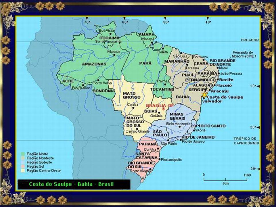 Apertem os cintos, vamos voar juntos nesse passeio maravilhoso com destino a Costa do Sauípe, litoral norte do estado da Bahia, no Brasil...