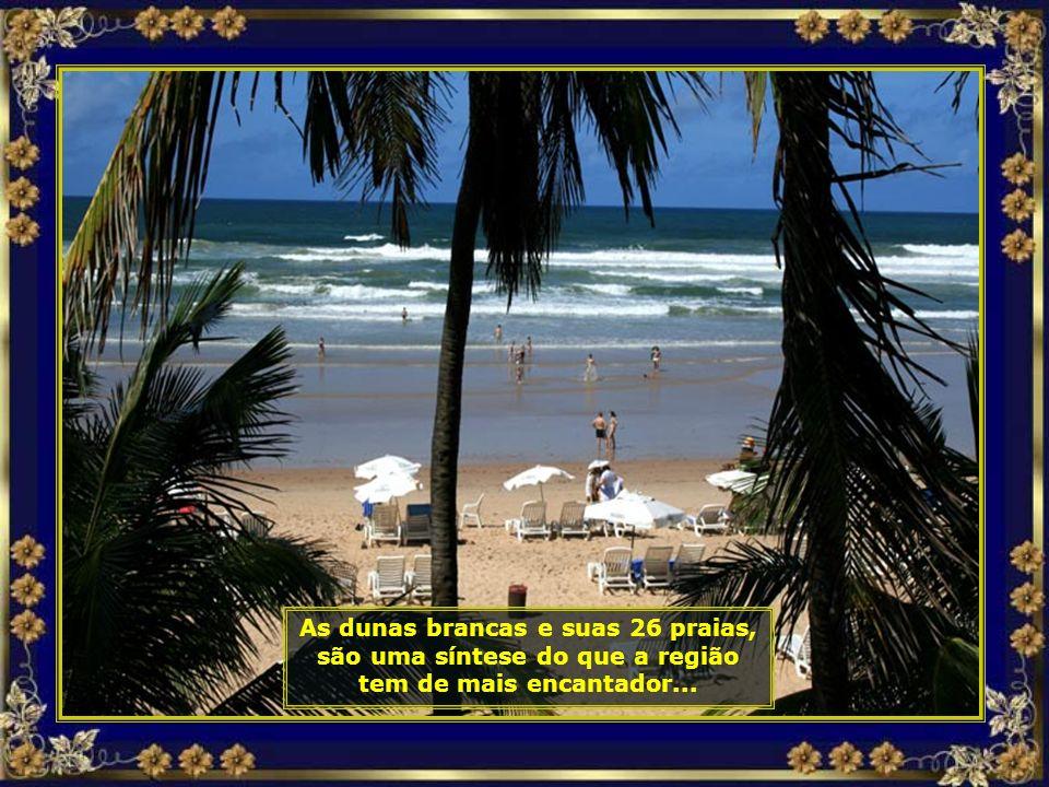 Costa do Sauípe está inserida numa região conhecida como a Costa dos Coqueiros, um dos expoentes máximos da beleza natural do nordeste brasileiro...