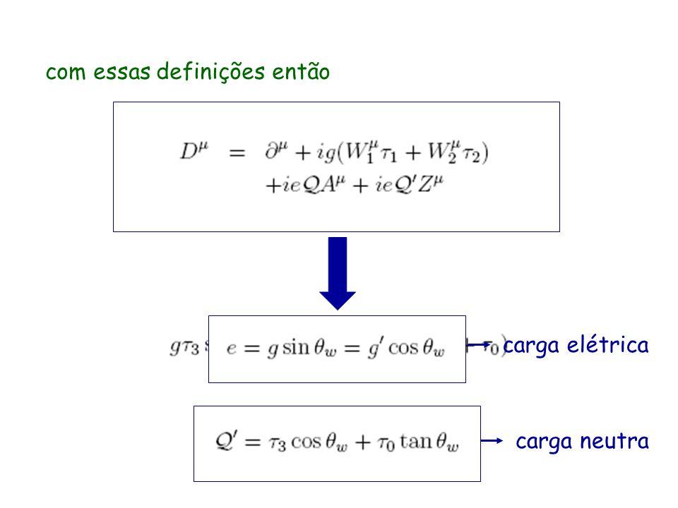 com essas definições então carga neutra carga elétrica