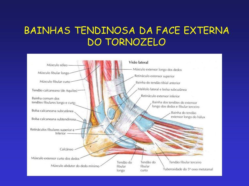 PALPAÇÃO DA FACE POSTERO-INTERNA DO TORNOZELO