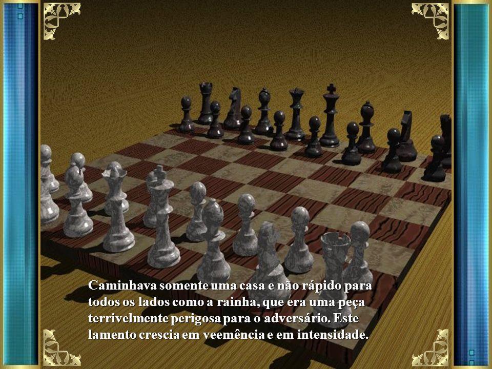 Era uma vez uma caixa de madeira que continha as pedras de um jogo de xadrez. Estavam todas misturadas,brancas, pretas, peões, reis, rainhas, bispos,