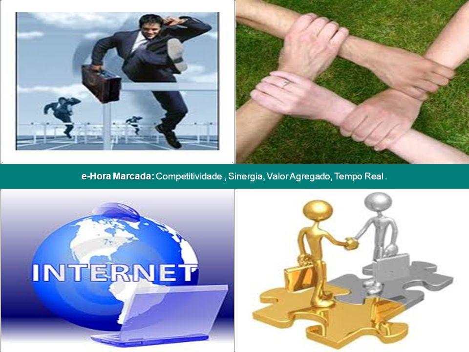 5e-Hora Marcada – Julho, 2011 e-Hora Marcada: e-Hora Marcada: Competitividade, Sinergia, Valor Agregado, Tempo Real. Posicionar uma imagem neste espaç