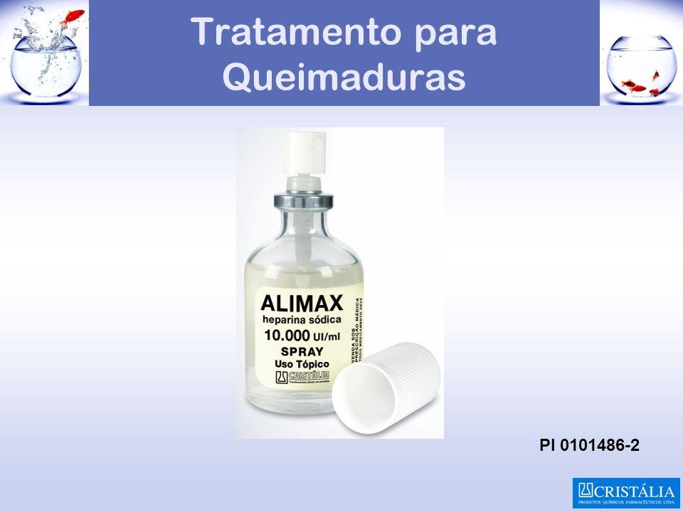 Tratamento para Queimaduras PI 0101486-2