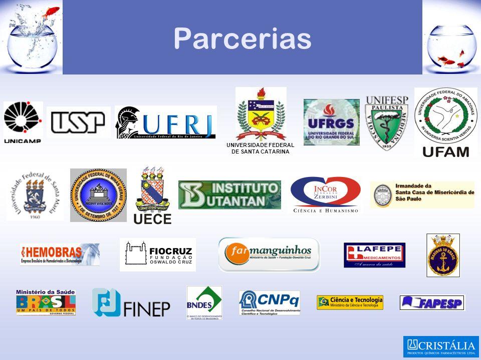 Parcerias UNIVERSIDADE FEDERAL DE SANTA CATARINA