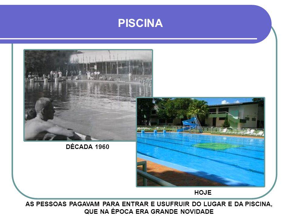 HOJE PISCINA 1945 A PISCINA JÁ FAZIA PARTE DO PARQUE BRASIL - FEITA DE PEDRA E BARRO, ERA MUITO FREQUENTADA PELA SOCIEDADE -