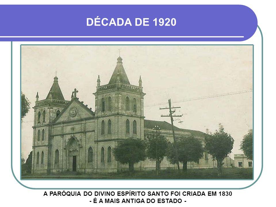 DÉCADA DE 1960 AVENIDA PRESIDENTE VARGAS - CAIXA D´ÁGUA NA SETA VERMELHA ESCOLA GABRIEL MIRANDA