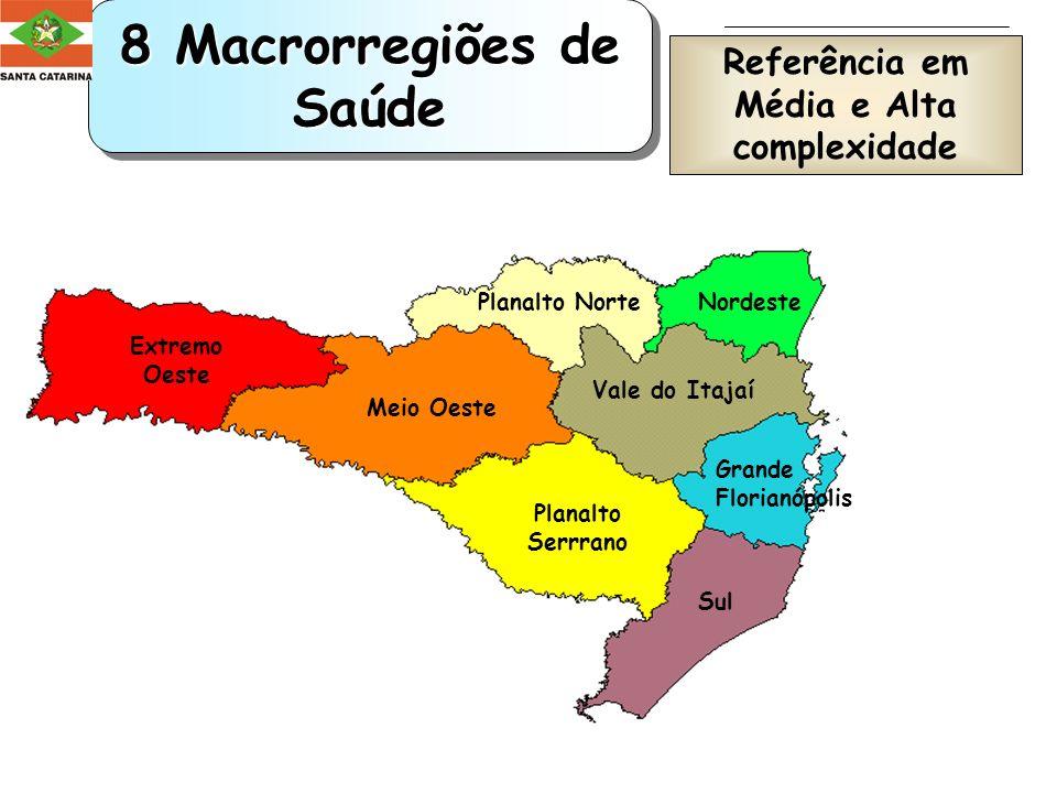 A estruturação das Macrorregiões de Saúde localização geográfica população agrupamento por regionais de saúde eqüidistância sistema viário cultura de