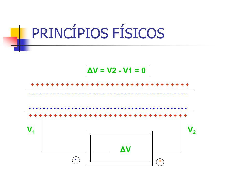 PRINCÍPIOS FÍSICOS - - - - - - - - - - - - - - - - - - - - - - - - - - - - - - - - - - - - - - - - - - - - - + - + + + + + + + + + + + + + + + + V2V2