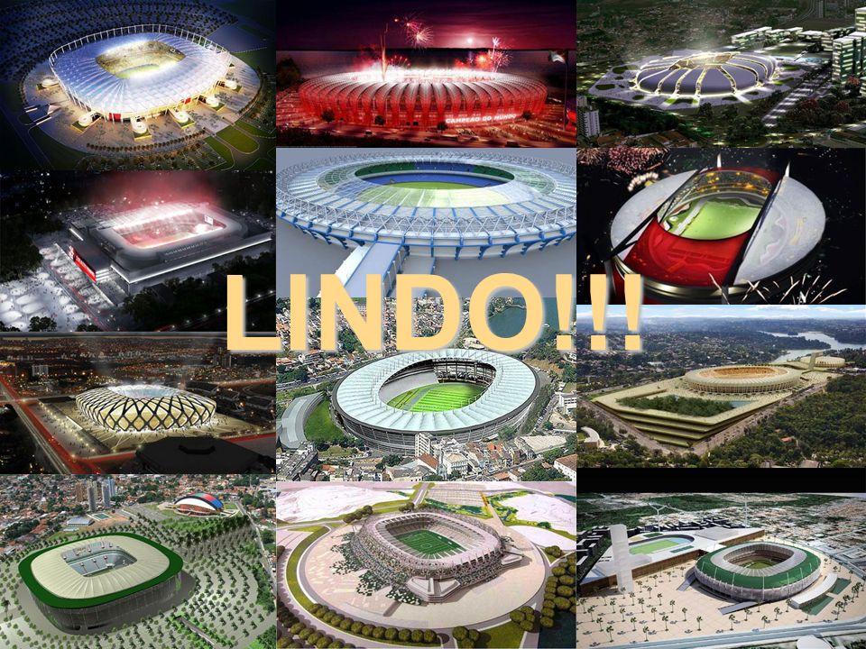 Estádio: Cidade da Copa, Recife Construção de estádio para 46.154 lugares, conj.