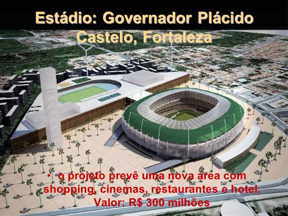 Estádio: Cícero Pompeu de Toledo SP Arquiteto: Ruy Ohtake Será reformado e construída cobertura nas cores branco e vermelho.