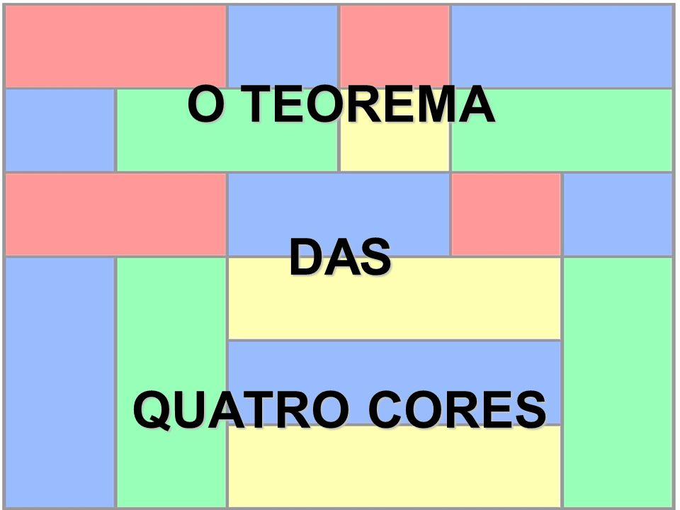 O TEOREMA DAS QUATRO CORES