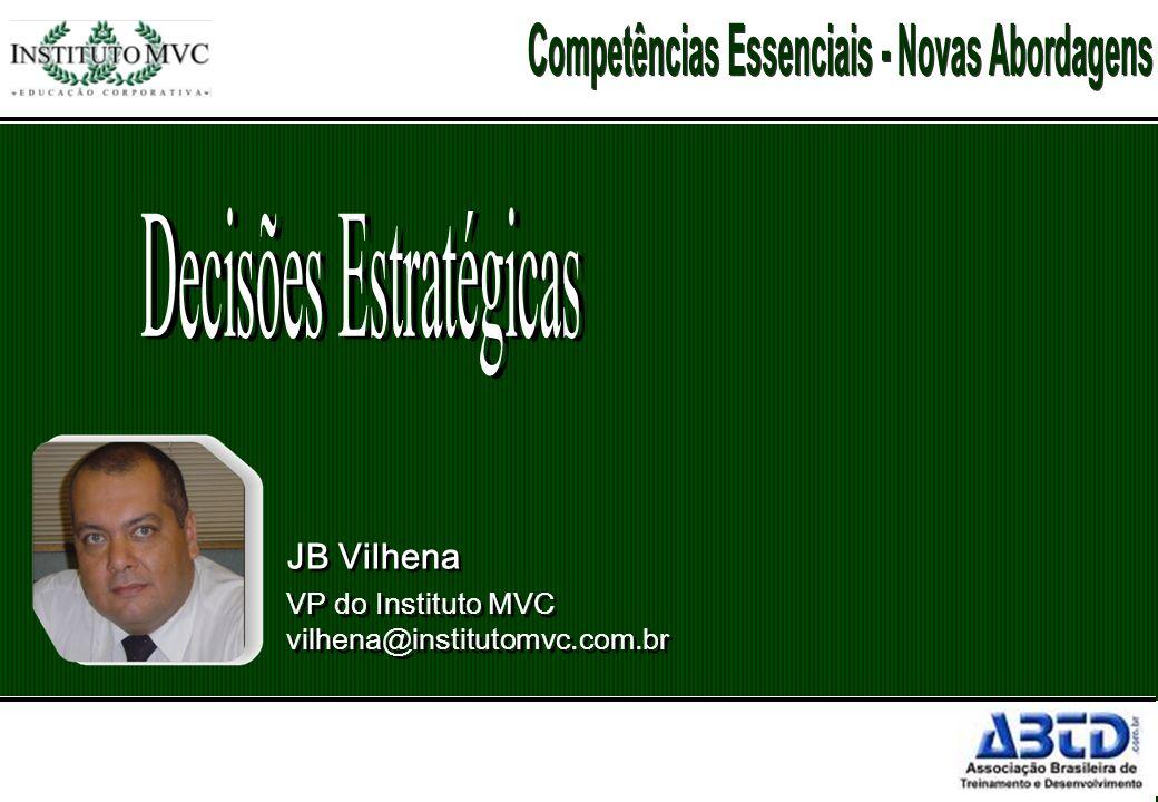JB Vilhena VP do Instituto MVC vilhena@institutomvc.com.br JB Vilhena VP do Instituto MVC vilhena@institutomvc.com.br
