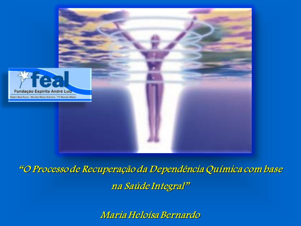 O Processo de Recuperação da Dependência Química com base na Saúde Integral Maria Heloísa Bernardo