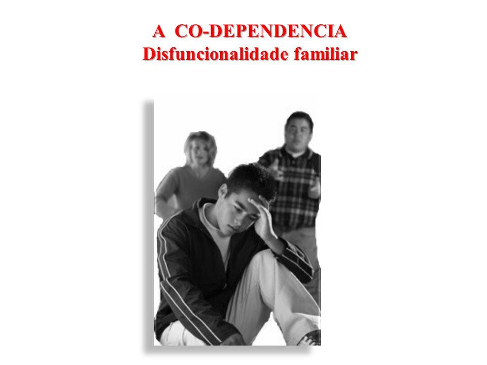 A CO-DEPENDENCIA Disfuncionalidade familiar