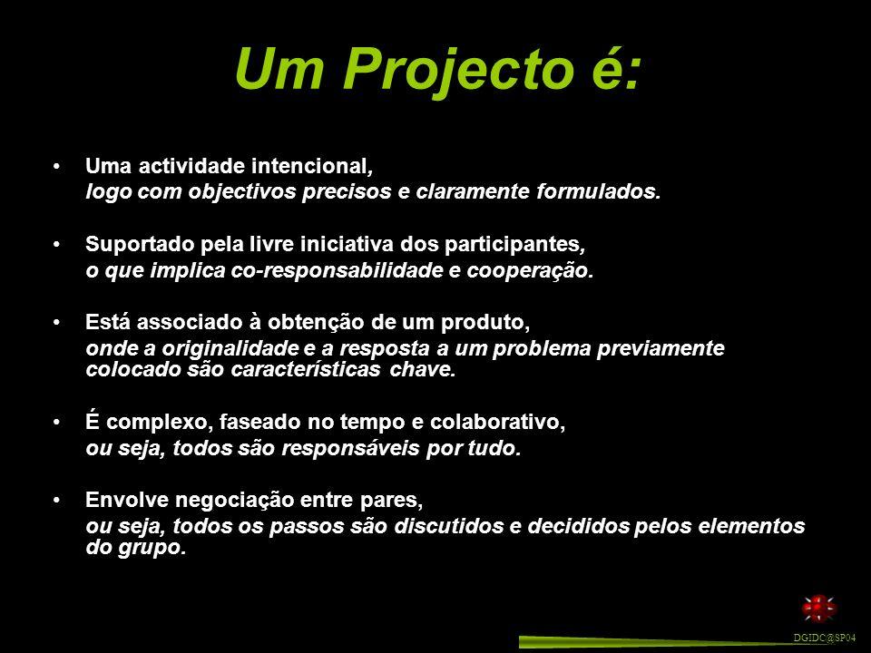 Pretende-se, portanto, com a metodologia de trabalho de projecto, que cada aluno adquira, treine e consolide práticas de: Como vimos, e segundo Gerard