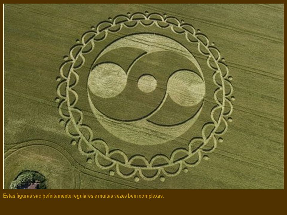 Estas figuras são desenhadas em plena noite, sem testemunhas, geralmente nos campos de trigo e de cevada. Perfeitos, eles se encontram no meio das erv