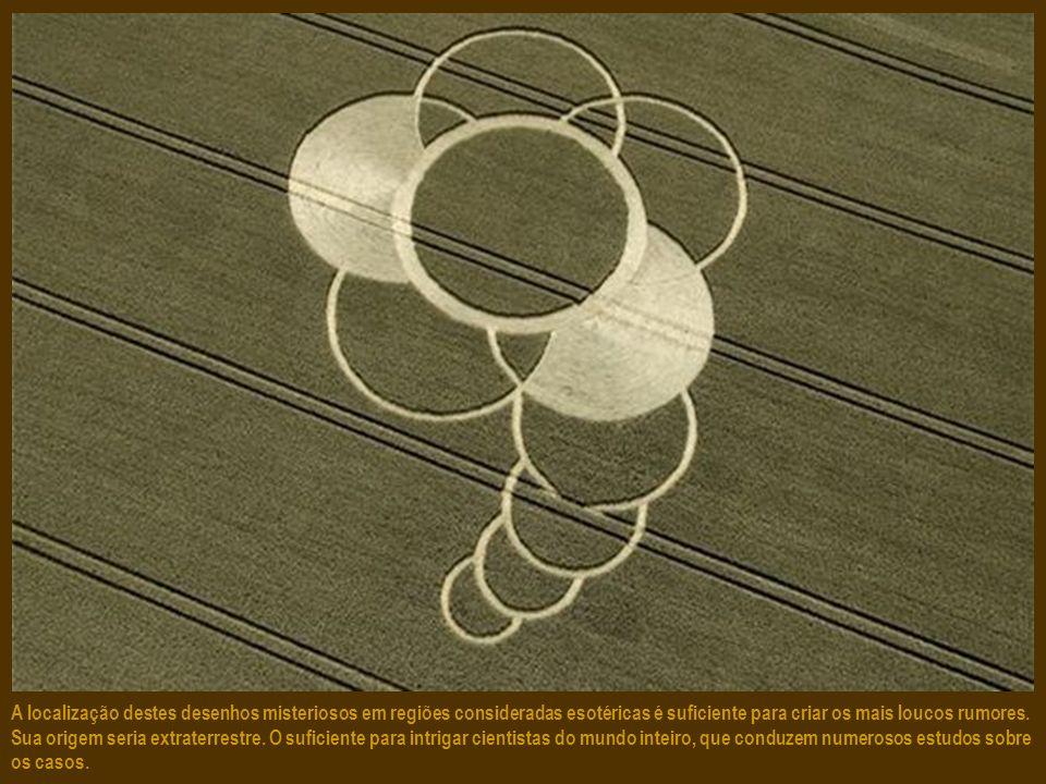 A região de Stonehenge, patrimônio da Unesco, é igualmente rica em agroglifos. Mais de 90% foram teleimpressos.