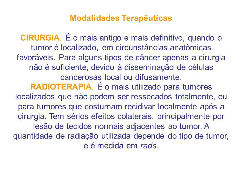 Modalidades Terapêuticas CIRURGIA.