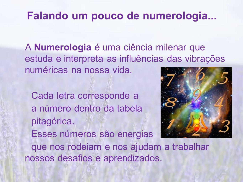 Falando um pouco de numerologia...