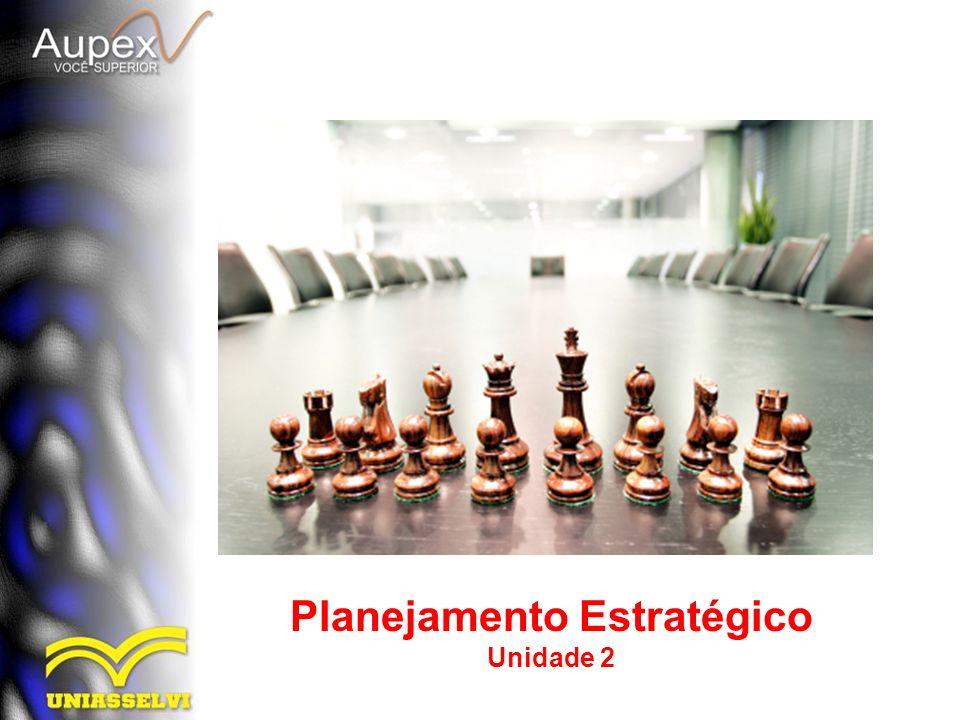 Planejamento Estratégico Unidade 2