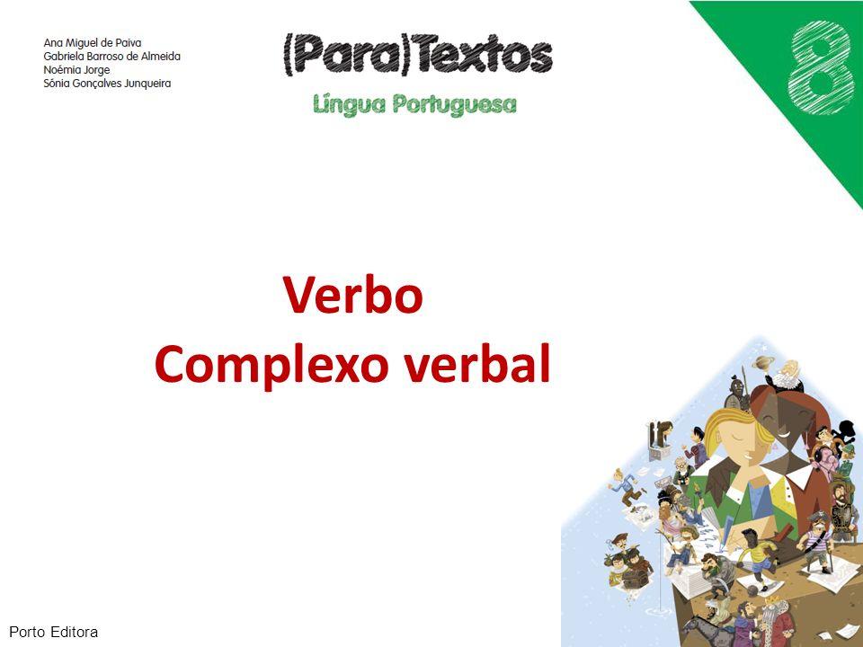 Classificação dos verbos quanto à flexão 1.Verbos regulares 2.