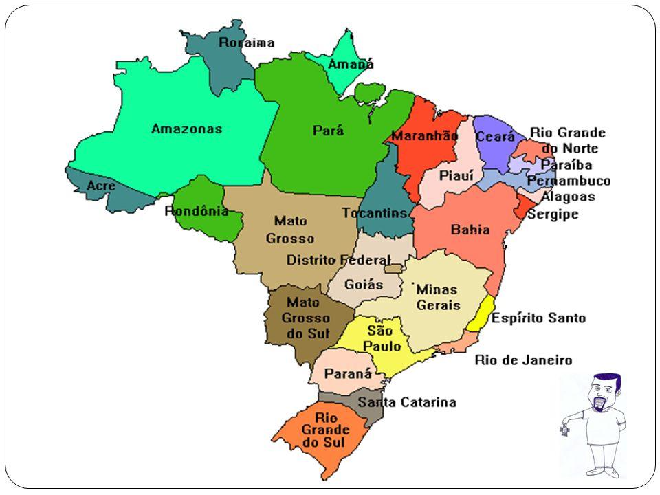MUDANÇAS NO TERRITÓRIO BRASILEIRO EM 1970 A REGIÃO NORTE POSSUIA TRÊS ESTADOS (PARÁ, AMAZONAS E ACRE).