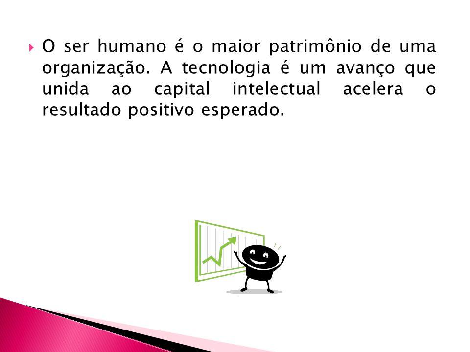 O ser humano é o maior patrimônio de uma organização.
