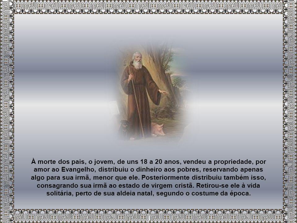 As datas da vida de Santo Antão são inseguras.A mais certa é a de sua morte, no ano 356.