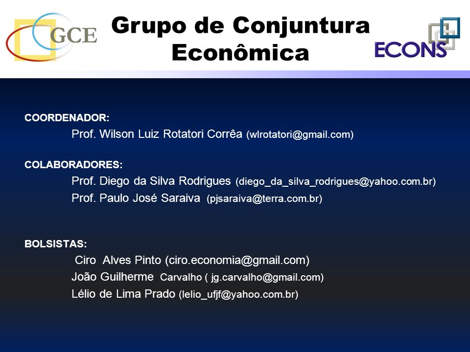 COORDENADOR: Prof. Wilson Luiz Rotatori Corrêa (wlrotatori@gmail.com) COLABORADORES: Prof. Diego da Silva Rodrigues (diego_da_silva_rodrigues@yahoo.co