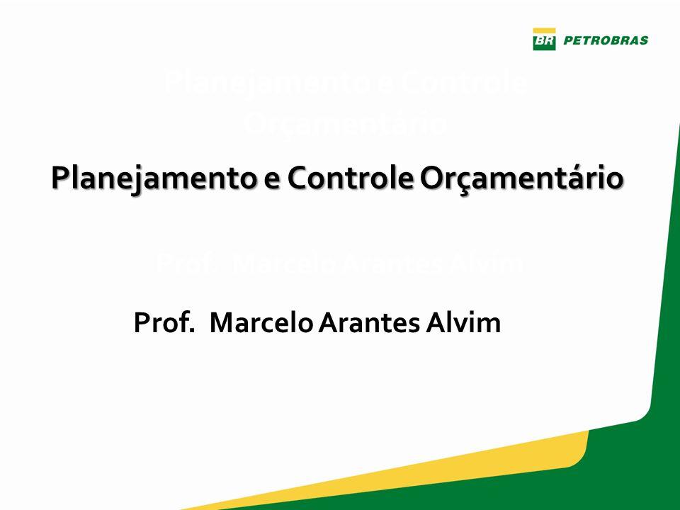 Gestor: CI/ICM Versão 1 – junho/2013 Prof. Marcelo Arantes Alvim Planejamento e Controle Orçamentário Prof. Marcelo Arantes Alvim Planejamento e Contr