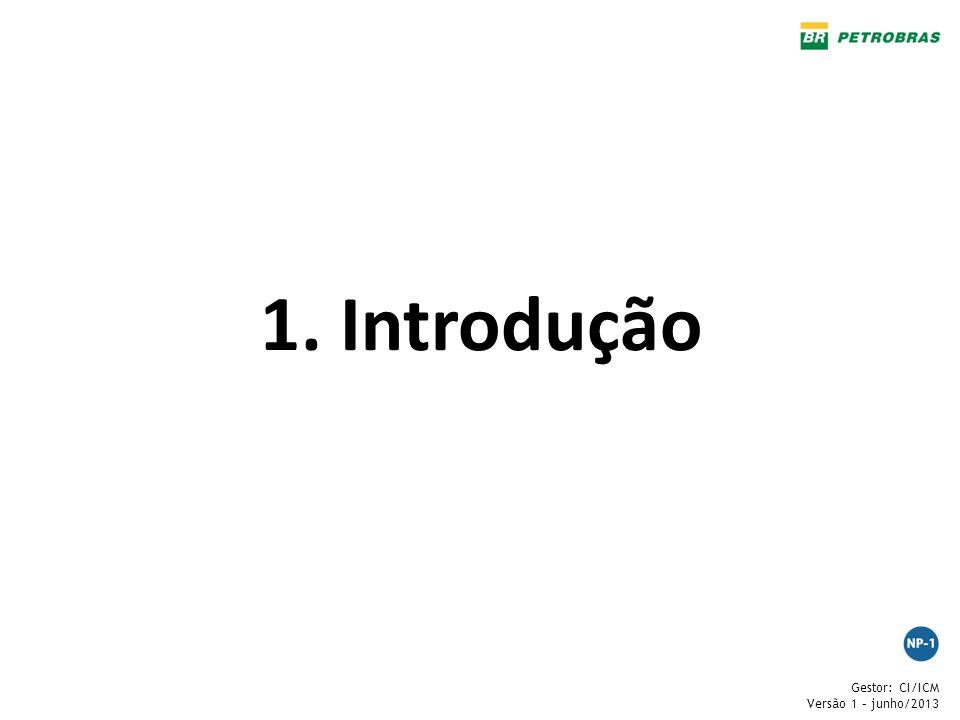 Gestor: CI/ICM Versão 1 – junho/2013 1. Introdução