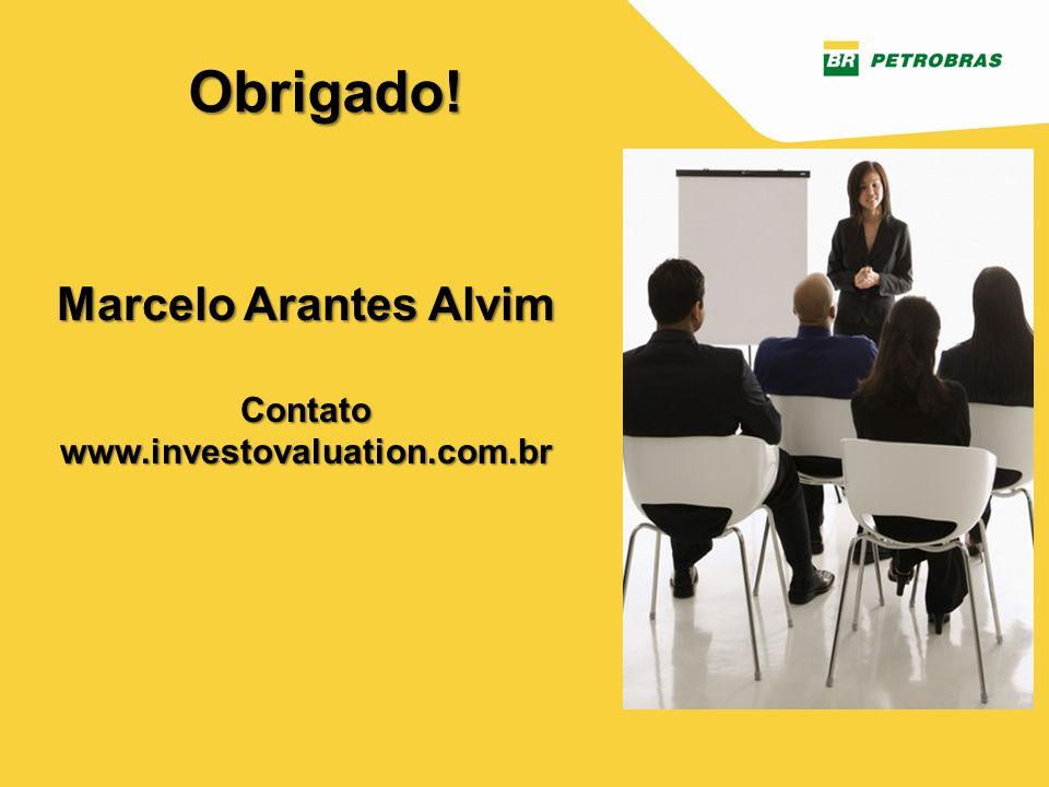 Gestor: CI/ICM Versão 1 – junho/2013 Marcelo Arantes Alvim Contato www.investovaluation.com.br Obrigado!