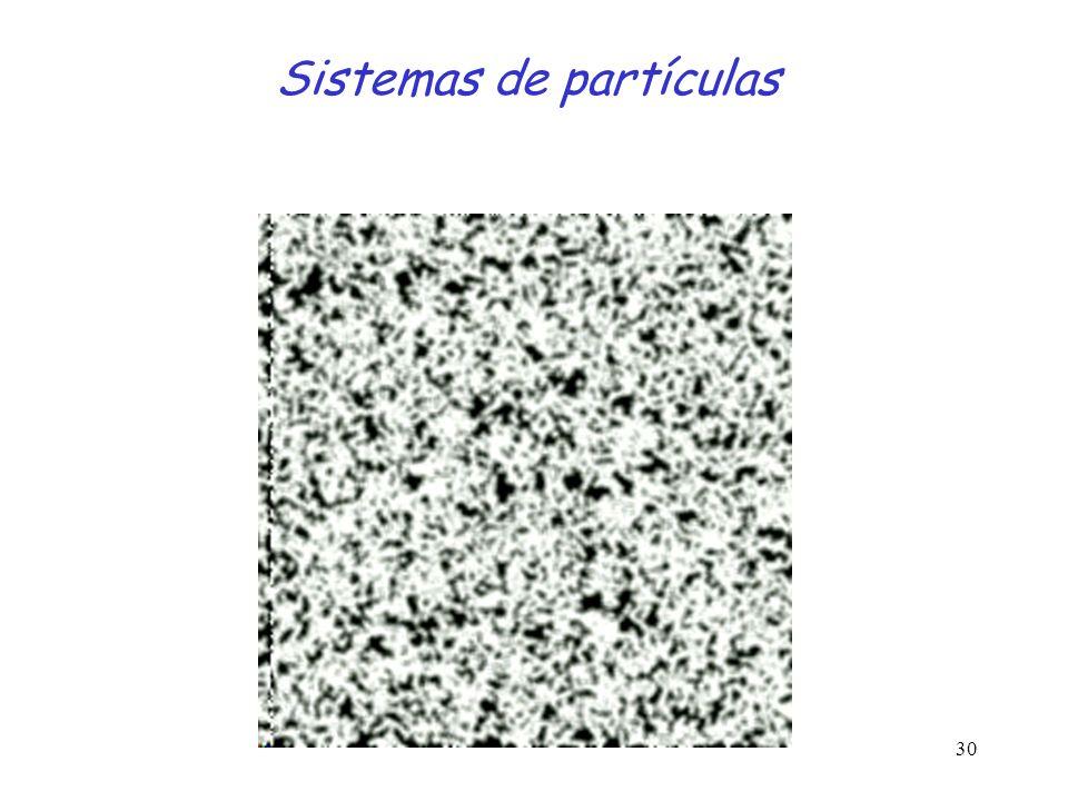 30 Sistemas de partículas
