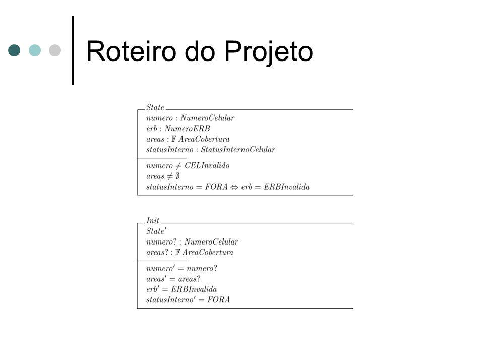Roteiro do Projeto