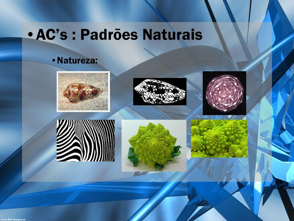ACs : Padrões Naturais Natureza: