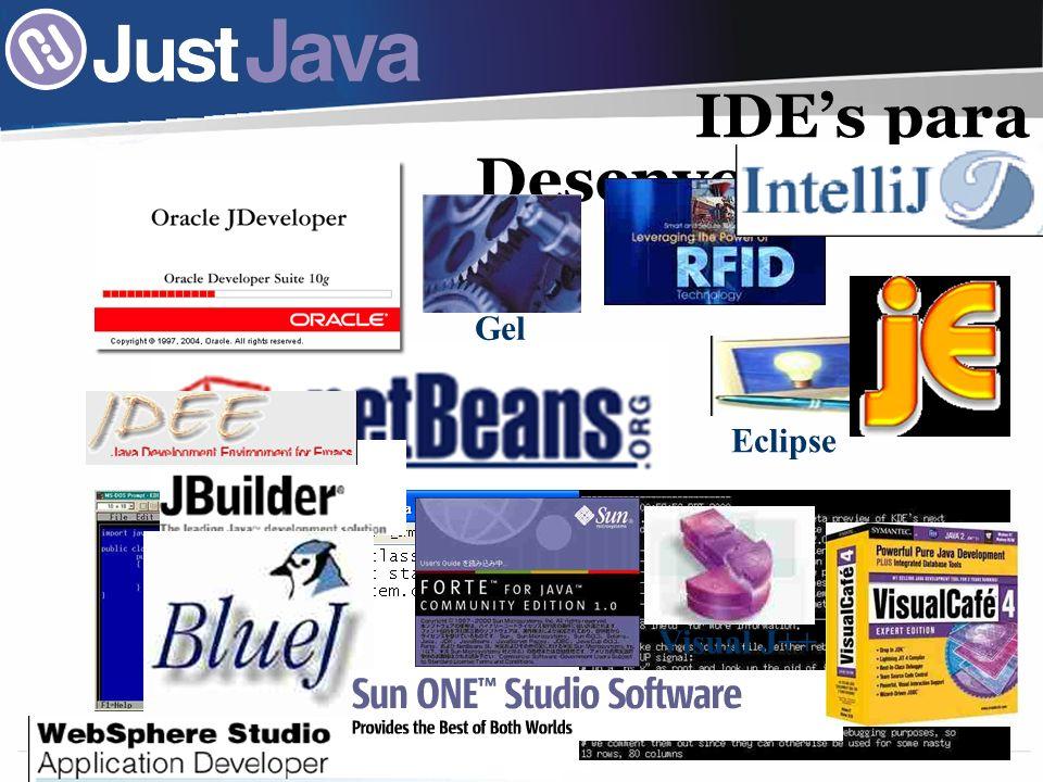 25 IDEs para Desenvolvimento Visual J++ Eclipse Gel
