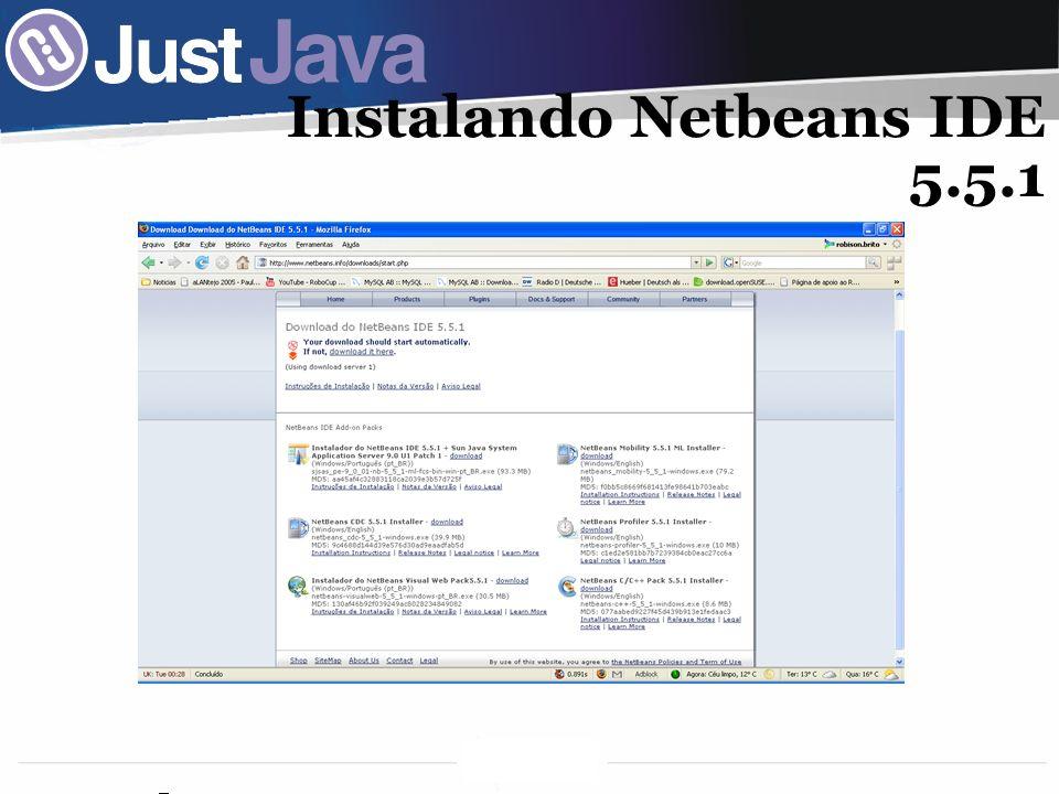 29 Instalando Netbeans IDE 5.5.1